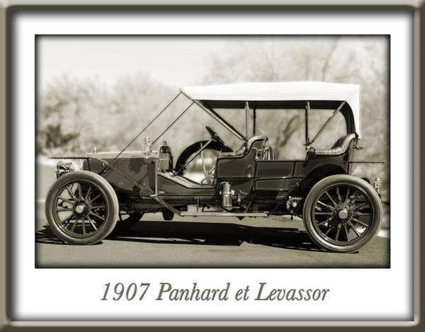 Photograph - 1907 Panhard Et Levassor by Jill Reger