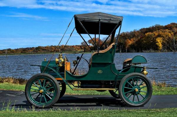 Photograph - 1908 Reo Four-seat Rubabout  by Tim McCullough