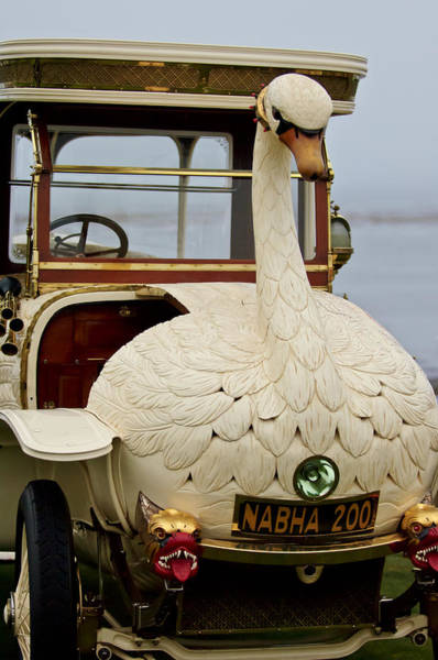 Swan Photograph - 1910 Brooke Swan Car by Jill Reger