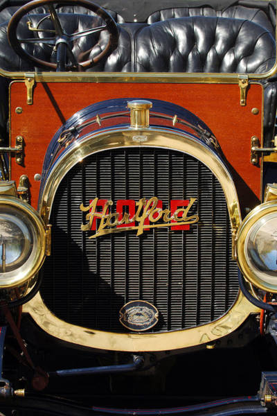 Photograph - 1910 Pope Hartford Model T Grille Emblem by Jill Reger