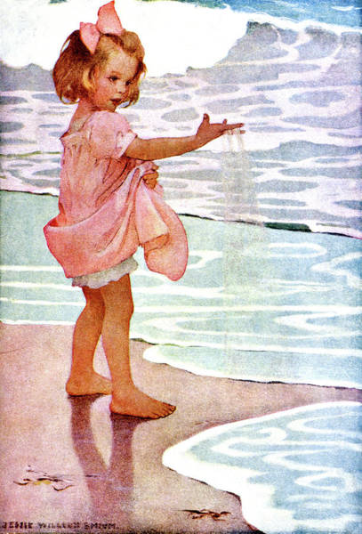 Excitement Painting - 1910s Jessie Willcox Smith Illustration by Vintage Images
