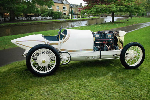 Sport Car Photograph - 1911 Benz Re Lsr by Car Culture