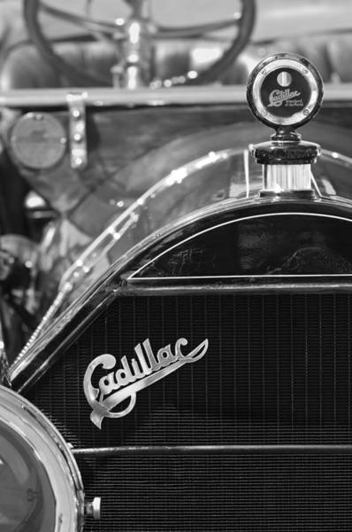1911 Photograph - 1911 Cadillac Roadster Grille And Hood Ornament by Jill Reger