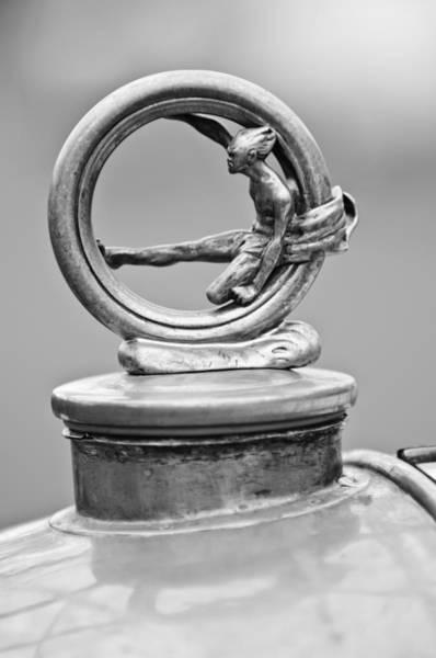 1912 Photograph - 1912 Gobron-brillie 12 Cv Skiff Hood Ornament 2 by Jill Reger