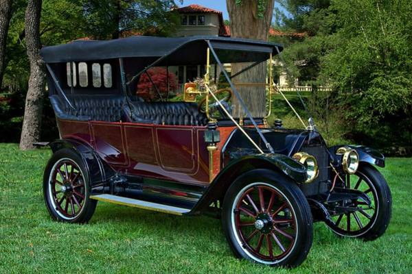 Photograph - 1912 Reo The Fifth 4 Door Touring Car by Tim McCullough
