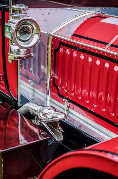 Photograph - 1912 Rolls-royce Silver Ghost Rothchild Et Fils Style Limousine Snake Horn -0711c by Jill Reger