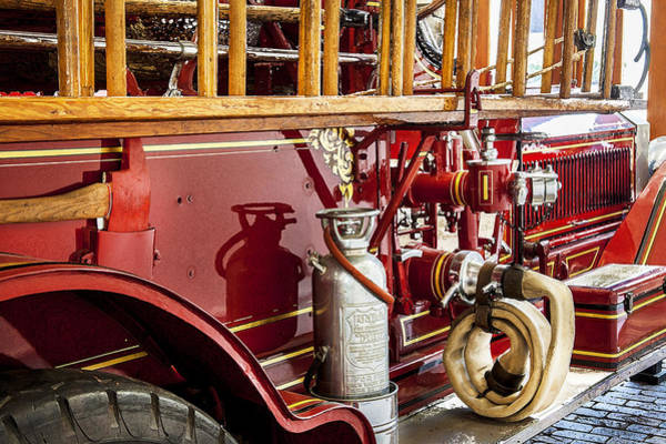 Photograph - 1915 Lafrance Fire Truck by Rich Franco