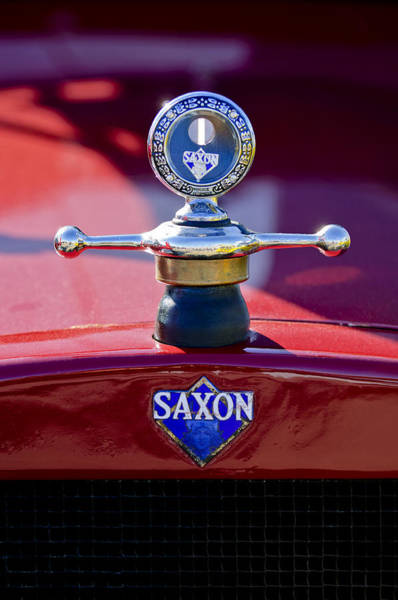 Hoodie Photograph - 1915 Saxon Roadster Hood Ornament by Jill Reger