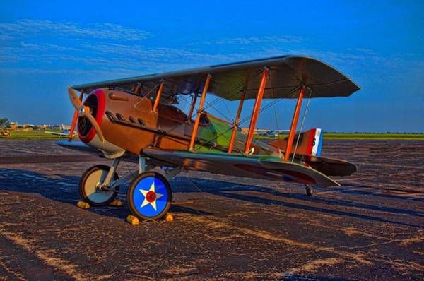 Photograph - 1917 Spad French Ww1 Airplane by Tim McCullough