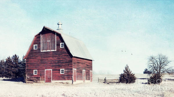 Photograph - 1918 Barn by Pam  Holdsworth