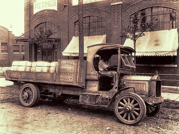 Wall Art - Photograph - 1919 Packard Work Truck by Daniel Hagerman