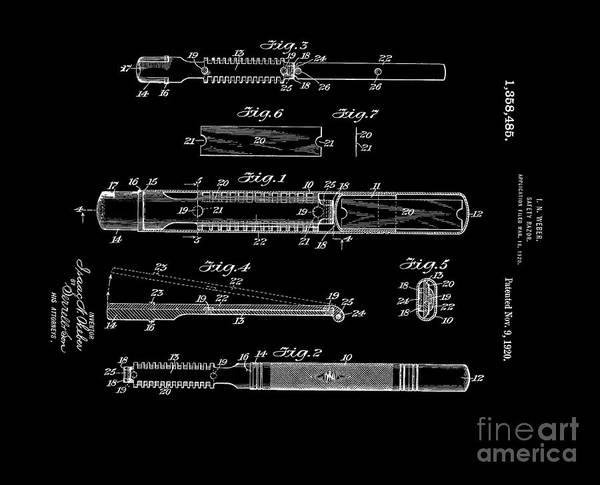 Digital Art - 1920 Razor Weber  by Lesa Fine