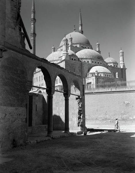 Alabaster Photograph - 1920s 1930s Cairo Egypt Architectural by Vintage Images