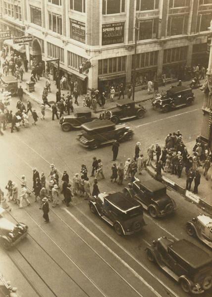 Neiman Photograph - 1920s Dallas Downtown by Paul Ashby Antique Image