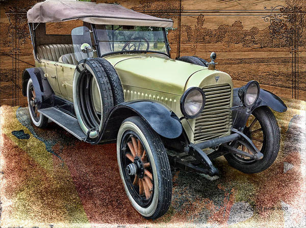 Digital Art - 1921 Hudson-featured In Vehicle Enthusiasts And Comfortable Art And Photography And Textures Groups by Ericamaxine Price