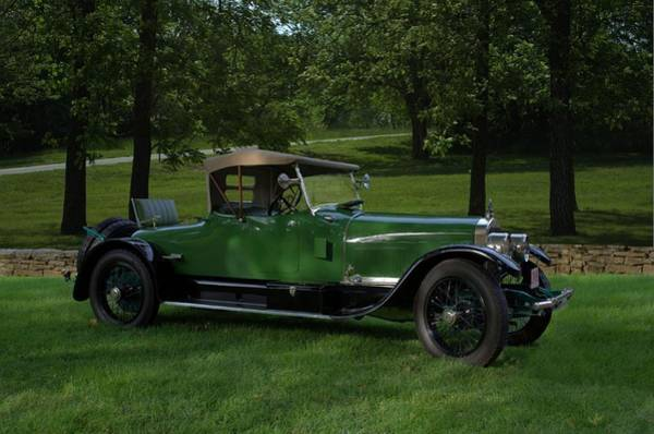 Photograph - 1921 Sunbeam Model 24 Roadster by Tim McCullough