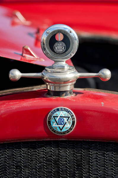Photograph - 1923 Dodge Brothers Hood Ornament by Jill Reger