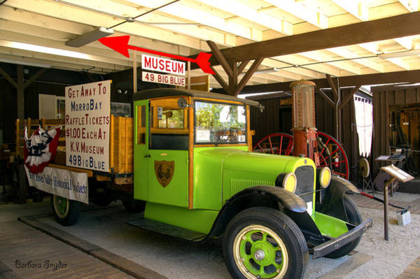 Photograph - 1925 Graham Truck Kernville  by Barbara Snyder