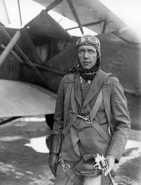 Photograph - 1926 Airline Pilot by Underwood Archives