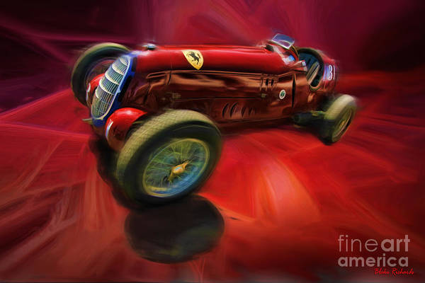 Photograph - 1926 Delage Grand Prix Car  Alfa-romeo  by Blake Richards