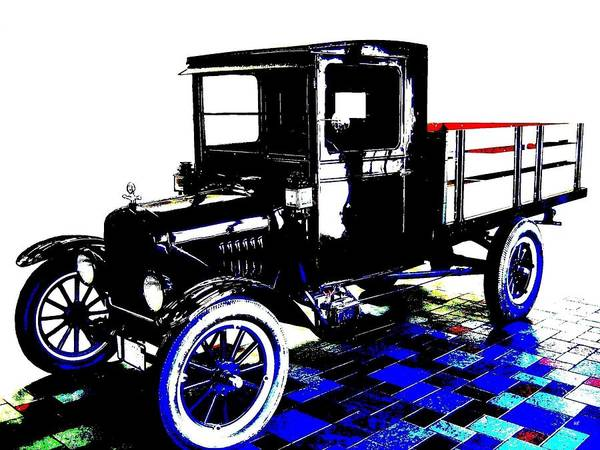 Appeal Digital Art - 1926 Ford Model T Stakebed by Will Borden