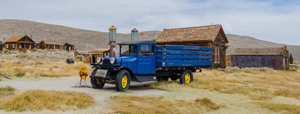 Bodie Ghost Town Wall Art - Photograph - 1927 Dodge by Mike Ronnebeck