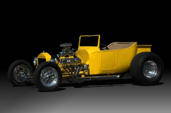 Photograph - 1927 Ford Bucket T Hot Rod by Tim McCullough