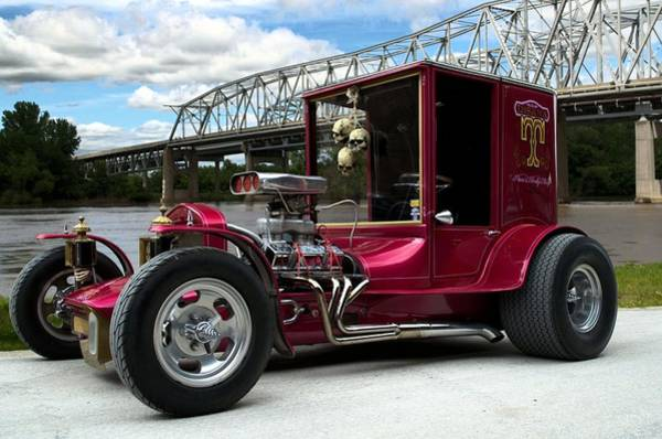 Photograph - 1927 Ford High Top Hot Rod by Tim McCullough