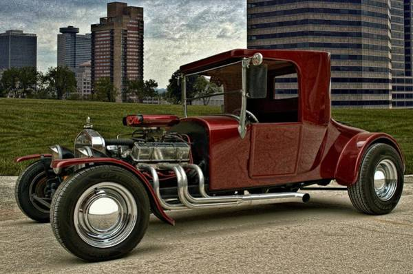 Photograph - 1927 Ford High Top T Hot Rod by Tim McCullough