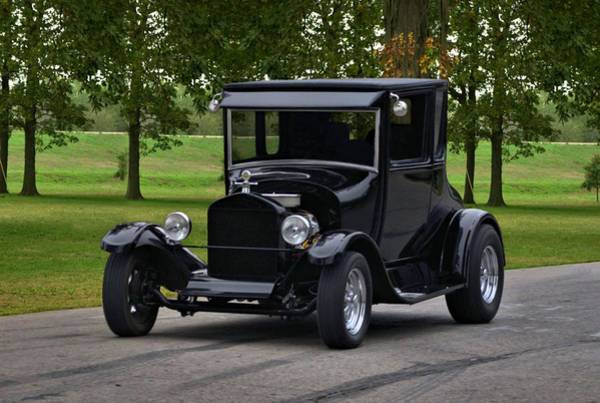 Photograph - 1927 Ford Model T High Top Hot Rod by Tim McCullough