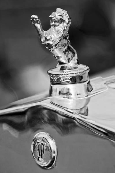 Car Part Photograph - 1927 Franklin Sedan Hood Ornament 2 by Jill Reger