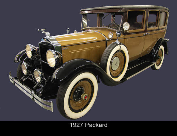 Photograph - 1927 Packard by Chris Flees
