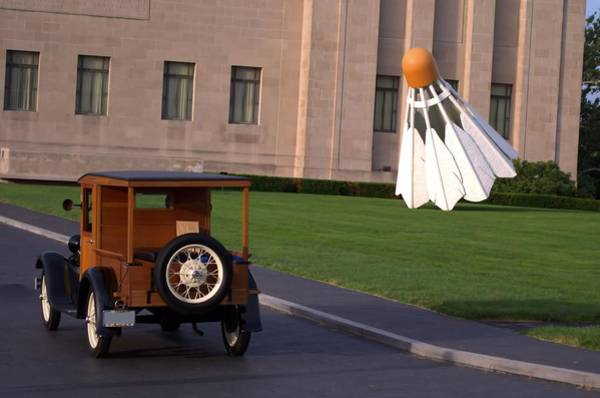 Photograph - 1928 Ford Model A Huckster Pickup Truck by Tim McCullough