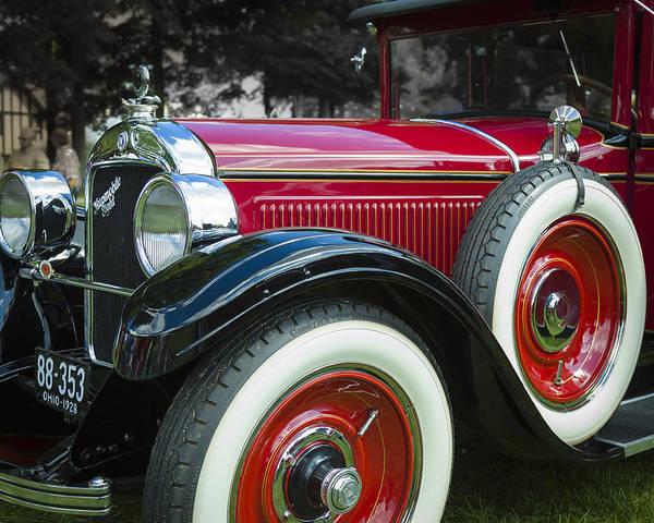 Photograph - 1928 Hupmobile Century Model E4 4 Door Sedan by Jack R Perry