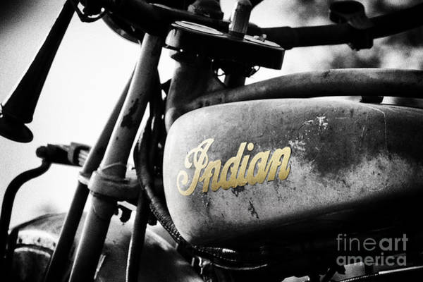 Wall Art - Photograph - 1928 Indian 101 Scout by Tim Gainey