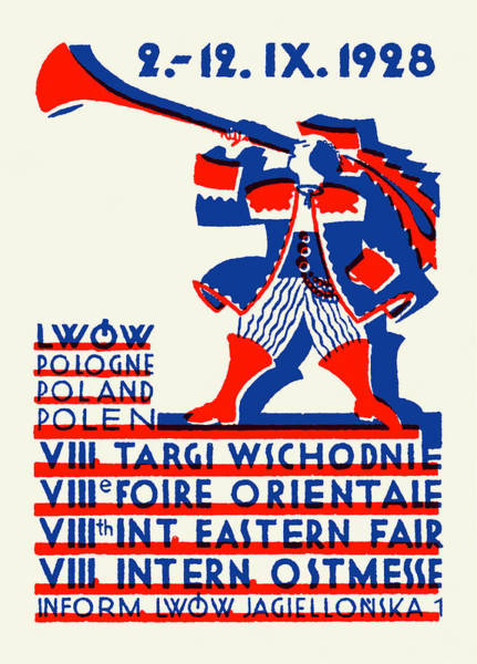 Poland Painting - 1928 Lwow Eastern International Fair by Historic Image
