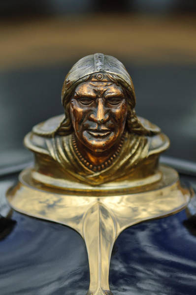 Wall Art - Photograph - 1928 Pontiac Hood Ornament  by Jill Reger