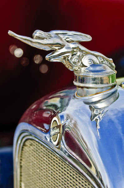 Hoodies Photograph - 1928 Studebaker Hood Ornament 2 by Jill Reger