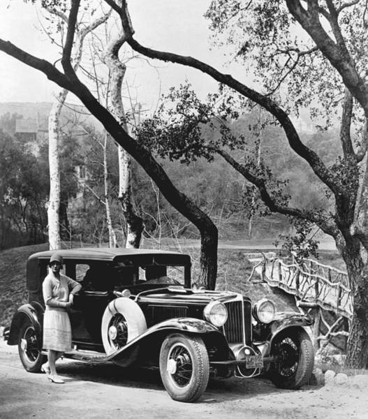 Wall Art - Photograph - 1929 Auburn Sedan by Underwood Archives