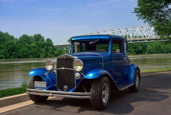 Photograph - 1929 Chevrolet Coupe Hot Rod by Tim McCullough