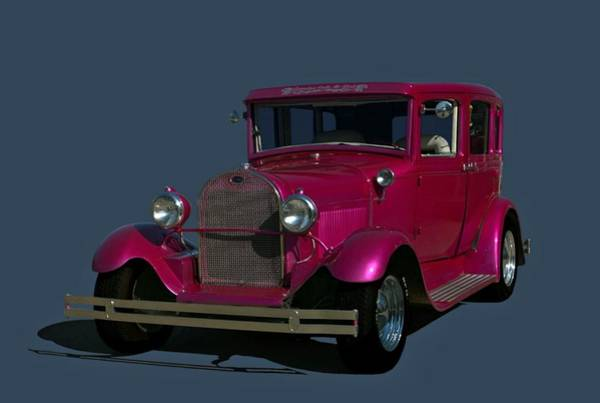 Photograph - 1929 Ford 4 Door Sedan Hot Rod by Tim McCullough