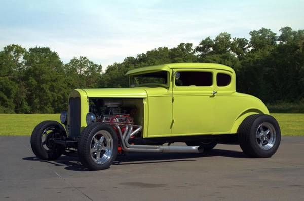 Photograph - 1929 Ford Coupe Hot Rod by Tim McCullough