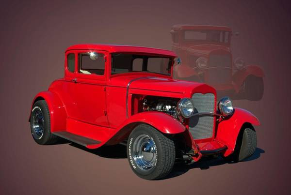 Photograph - 1929 Ford Hot Rod by Tim McCullough
