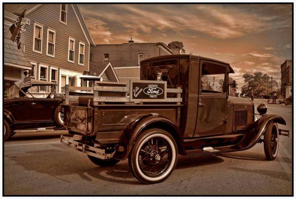 Photograph - 1929 Ford Model A Pickup Truck by Tim McCullough