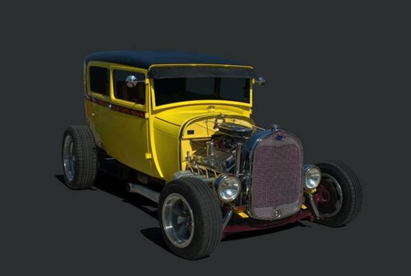 Photograph - 1928 Ford Sedan Hot Rod by Tim McCullough