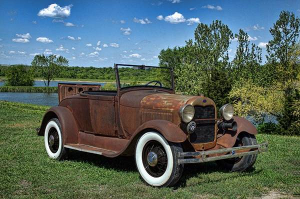Photograph - 1929 Model A Ford Roadster by Tim McCullough