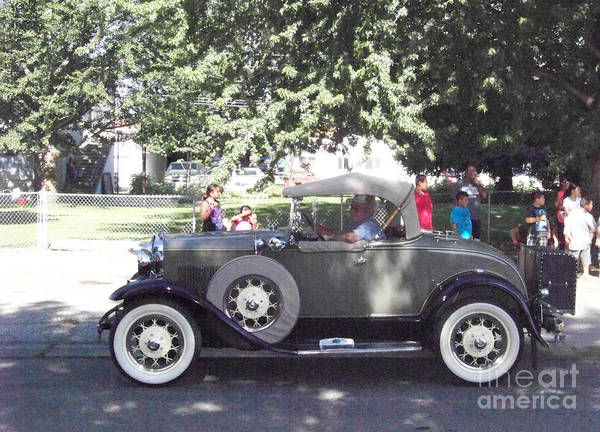 Photograph - 1929 Model A Roadster by Charles Robinson