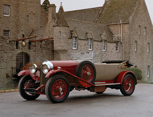 Motoring Photograph - 1930 Bentley 4.5 Litre Open Tourer by Panoramic Images