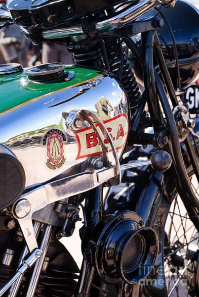 Photograph - 1930 Bsa 500cc Sloper  by Tim Gainey