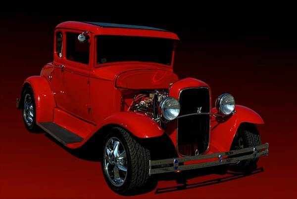 Photograph - 1930 Ford Model A Coupe Hot Rod by Tim McCullough
